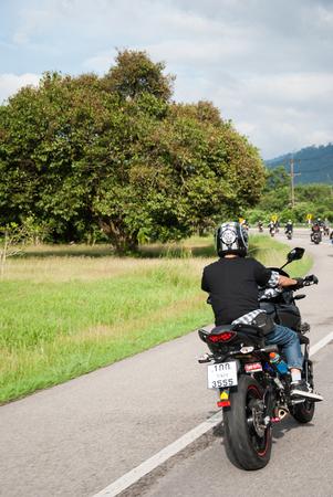 RANONG,THAILAND - NOVEMBER 29 - 30 Participants in 30th Ranong Bike Week in Ranong,Thailand Bikers from all over Thailand came to Ranong  Editorial