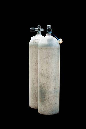 aqualung: Immersioni subacquee metallo bombole di ossigeno - Aqualung