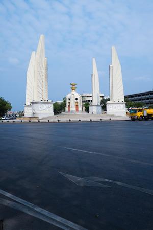 democracy Monument: Moment of Democracy monument at daytime (Bangkok, Thailand) Editorial