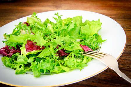 escarola: Salad Mix Batavian, Frise, Radicchio, Chicory and Dietary Meal