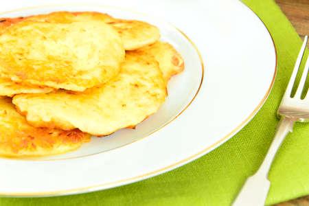 Fried Potato Pancakes. Belarusian and German Cuisine. Stodio Photo
