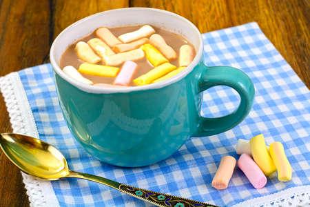 Cocoa with Marshmallows Sweet Food Studio Photo