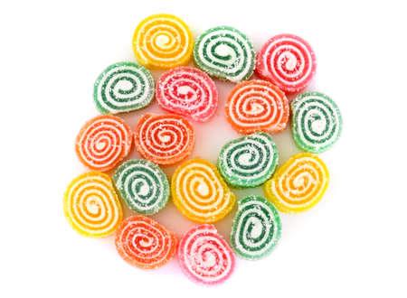 gelatina: La dieta sana y dulzura: Mermelada. estudio Fotográfico Foto de archivo