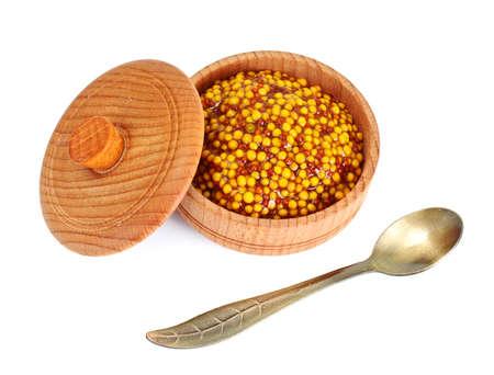 grained: French Grain Mustard Studio Photo