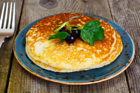 blini: Tasty Pancakes Stack with Currant Studio Photo