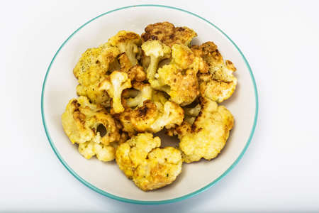 batter: Cauliflower Fried in Batter Studio Photo