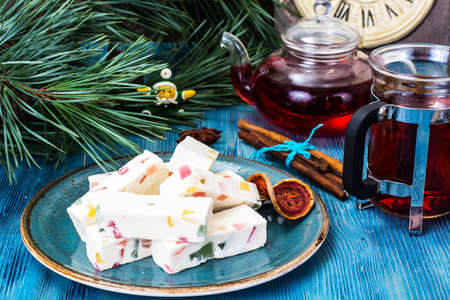 Pastilles with marmalade. Studio Photo Stock Photo