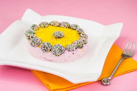 gelatina: Dieta Postre: Jalea de frutas y gelatina. estudio Fotográfico Foto de archivo