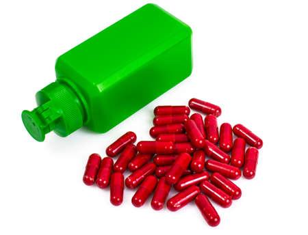 Pharmaceutical colorful pill, capsules, multivitamins, supplemen