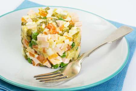 ensaladilla rusa: Russian salad Olivier