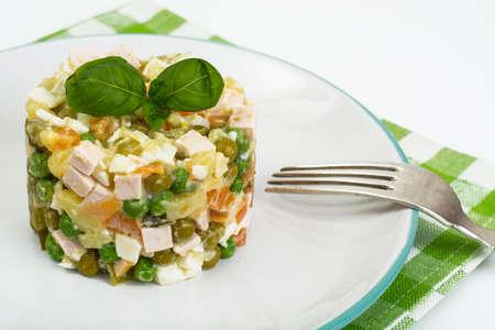 russian salad: Russian salad Olivier