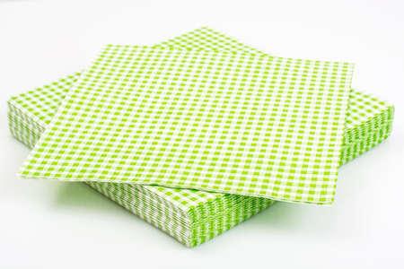 Papieren wegwerp servetten Presenteren Stockfoto - 70483820