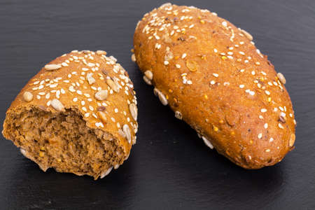 Multi grain bread with different seeds