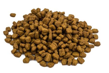 Dry granulated animal feed Foto de archivo