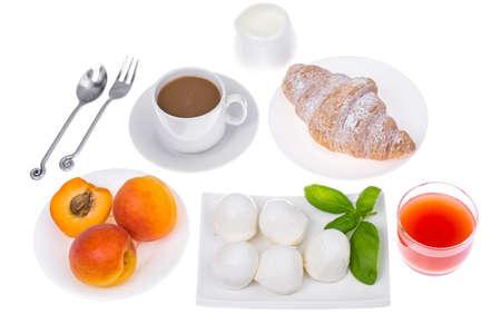 Set Of Healthy Breakfast Dishes Studio Photo Stock
