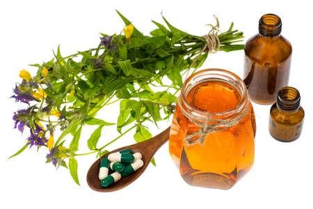 Honey treatment in folk medicine