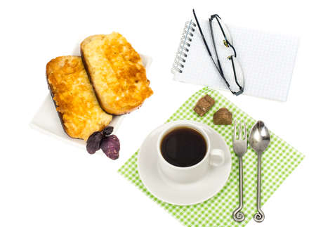 mi: Coffee with sandwiches for an office lunch
