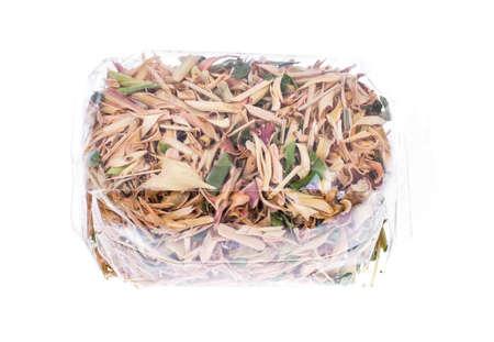 lemongrass tea: Dried lemongrass grass