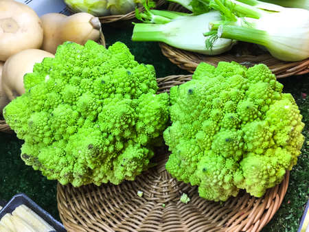 Healthy Eating: Fresh Brocoli Veronica