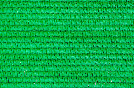 Background of green plastic mesh Stock Photo