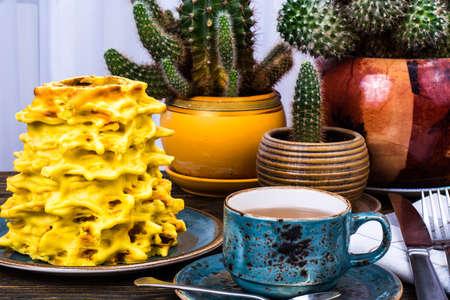 Lithuanian Traditional Sakotis Cake