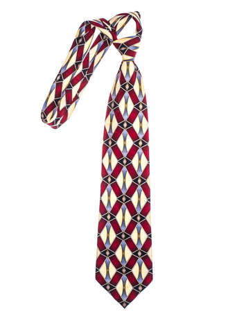 Colored mans neckties for the Fathers Day Stock Photo