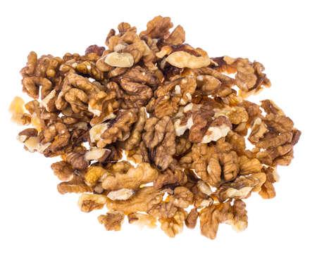 Pieces of ripe walnut 写真素材