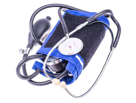 Mechanical blood pressure tonometer. Studio Photo