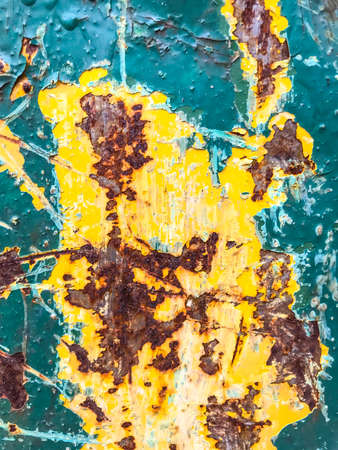 Surface, background, texture of rusty metal Stock Photo