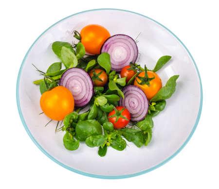 Dishes with Portulaca oleracea