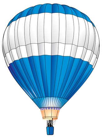 flying balloon: balloon realistic  illustration