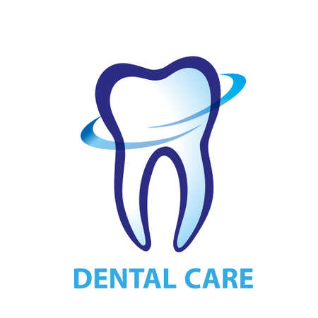 Health Dent Logo design vector. Cosmetic dental dentistry. Dental clinic Logotype concept icon. Health tooth poster or card.