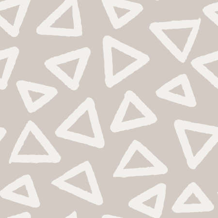 seamless pattern in pastel colors simple Stock Illustratie