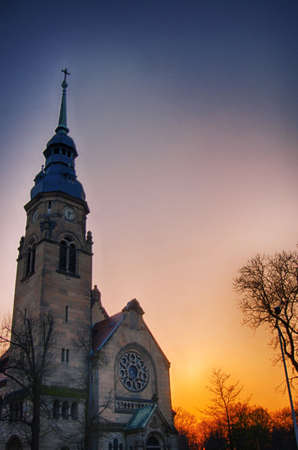 Agnes Church Altenburg Germany 版權商用圖片 - 32873364