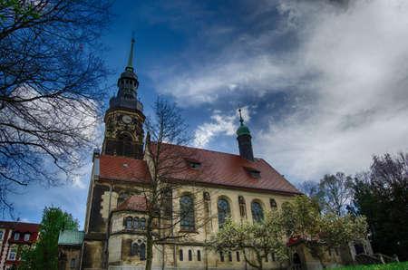 Agnes Church Altenburg Germany 版權商用圖片 - 32873383