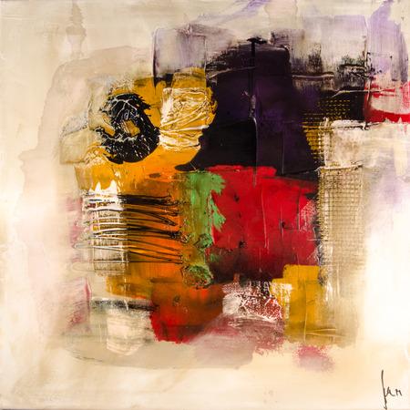 Moderne Abstrakt schilderen beeldende kunst artprint Stockfoto - 33228207