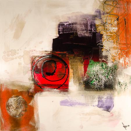 modern abstrakt painting fine art artprint 免版税图像 - 33269453