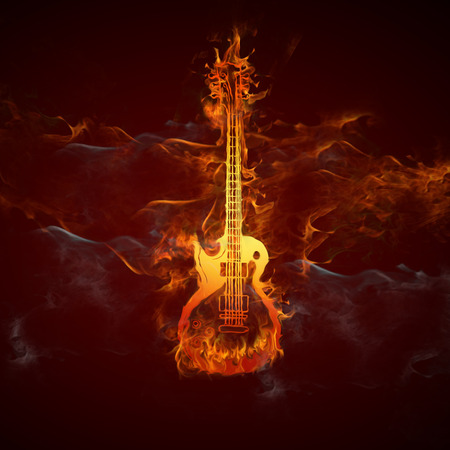 Guitars fire