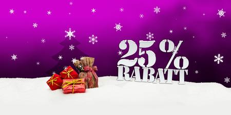 Christmas gifts 25 percent Rabatt Discount pink photo
