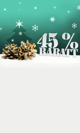 christmas pinecone tree 45 percent Rabatt discount turquoise photo