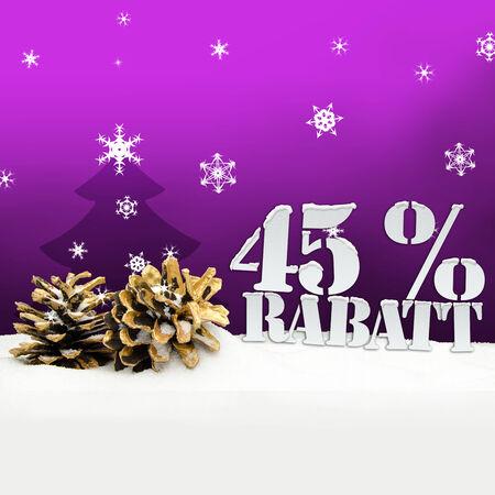 Weihnachten Tannenzapfen Baum 45 Prozent Rabatt Rabatt rosa Standard-Bild - 34101707