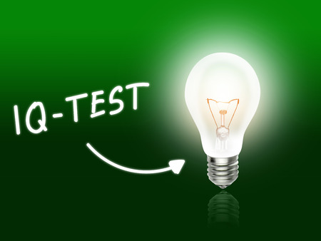 iq: IQ Test Bulb Lamp Energy Light green Idea Background
