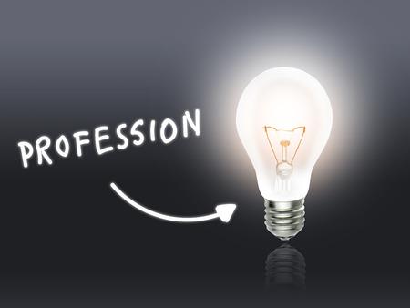 hint: Profession Bulb Lamp Energy Light gray Idea Background