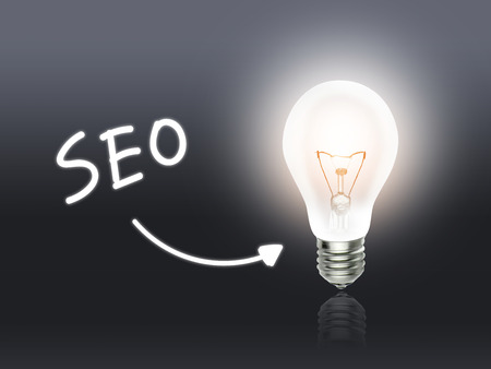 hint: SEO Bulb Lamp Energy Light gray Idea Background