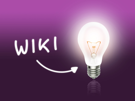 wiki: Wiki Bulb Lamp Energy Light pink Background Idea