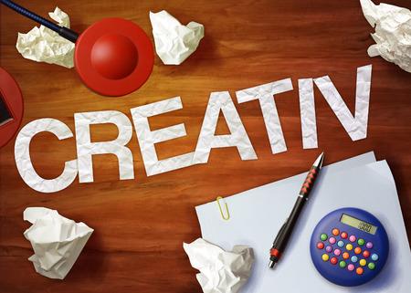 creativ: creativ desktop memo calculator office think organize