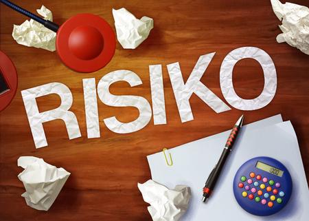 risiko: risiko desktop memo calculator office think organize