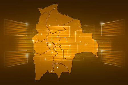 mapa de bolivia: Mapa Bolivia Mapa del Mundo entrega Noticias Comunicaci�n oro amarillo