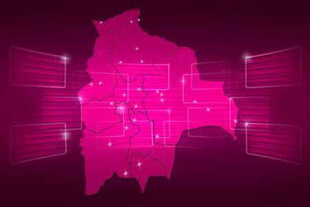 mapa de bolivia: Mapa Bolivia Mapa del Mundo Noticias Comunicaci�n rosa entrega