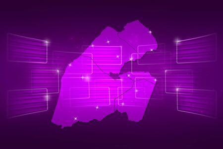 djibouti: Djibouti Map World map News Communication delivery purple
